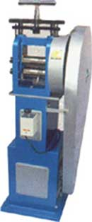 Jewellery Machinery, Rolling mill single head combined with stand & motor