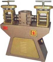 Jewellery Machinery, Rolling mill 3 in 1 heavy duty for sheet  & wire deluxe